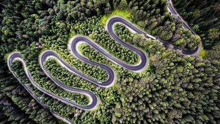 Călătorie cu motocicleta pe Transfăgărășan