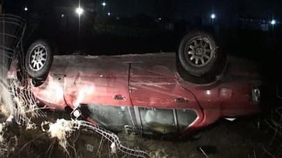 Cinci victime în două accidente