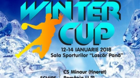 """""""Winter Cup"""", turneul internațional de handbal în Baia Mare"""