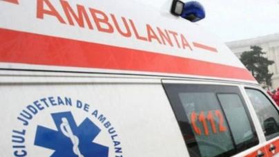 Rănit grav după explozia unui cuptor