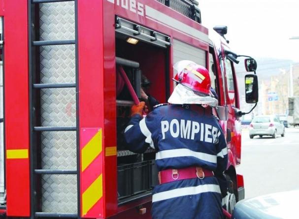 Trei zile cu opt intervenții pentru pompierii maramureșeni