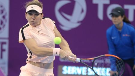 După o zi fără surprize oferite de românce la Doha, doar Simona continuă cursa (VIDEO)