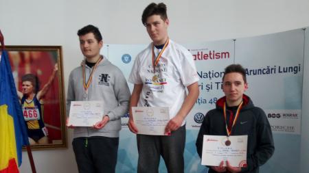 """Atleții Liceului cu Program Sportiv au câștigat șase medalii la """"naționalele"""" de aruncări (GALERIE FOTO)"""