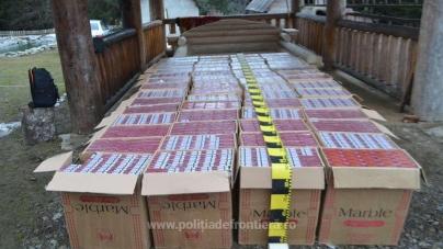 Captura săptămânii: țigări de contrabandă de 5,26 miliarde de lei vechi