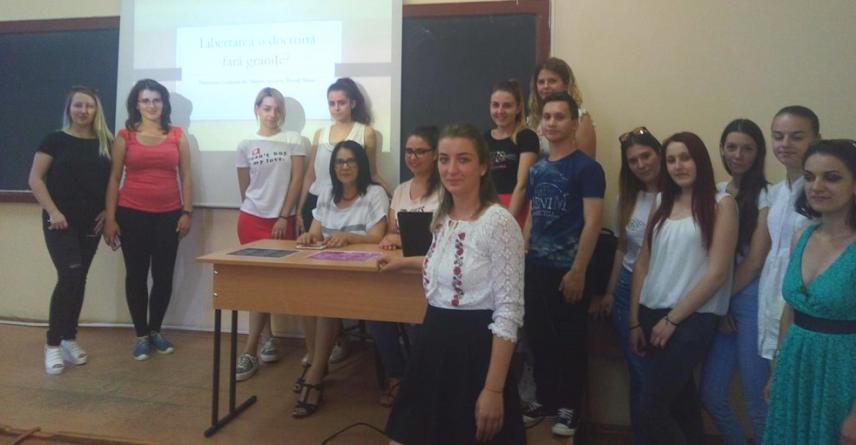 Workshop studențesc despre raționamentul practic și strategiile argumentative ale discursului