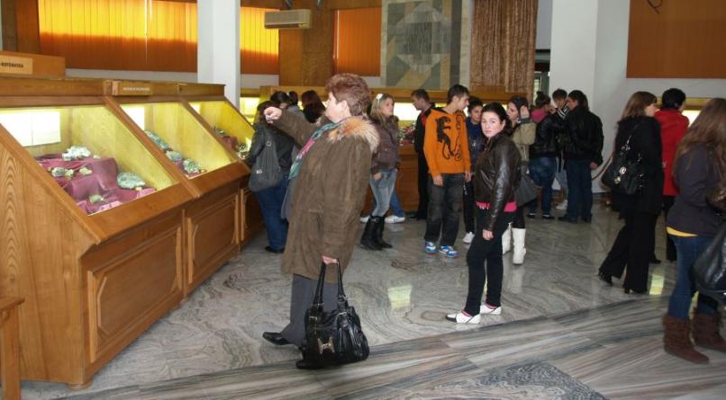 Număr record de vizitatori la Muzeul de Mineralogie