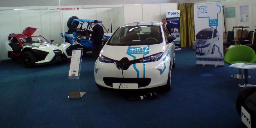 Mașinile electrice, vedetele expoziției ProTehnica