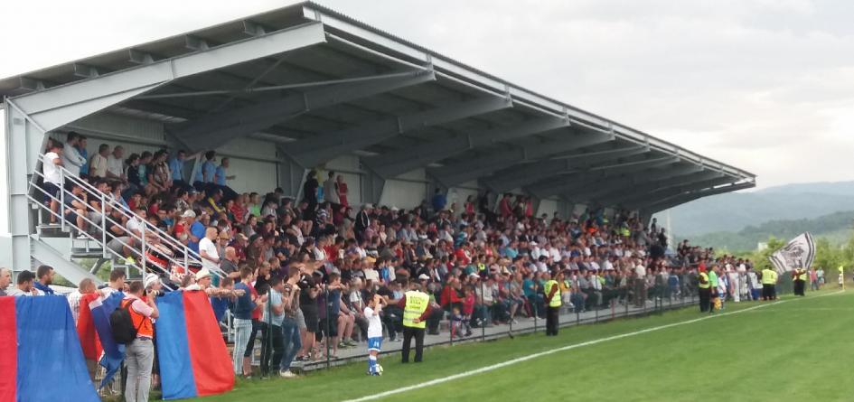 Președintele FRF a venit la Recea, la inaugurarea noului stadion de fotbal (GALERIE FOTO)