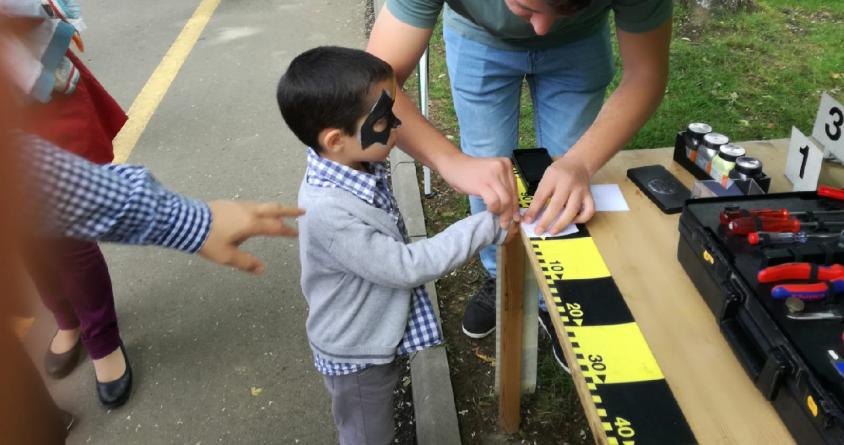 Copii amprentați de polițiștii sigheteni (GALERIE FOTO)