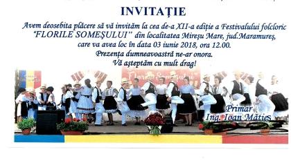 """""""Florile Someșului"""", la Mireșu Mare"""