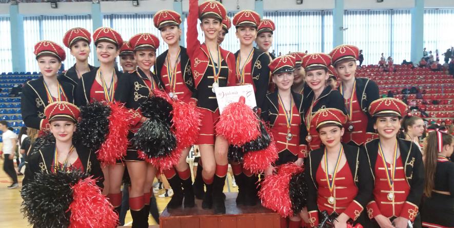 Acrobații, zâmbete și multă culoare la Concursul Național de Majorete (GALERIE FOTO și VIDEO)