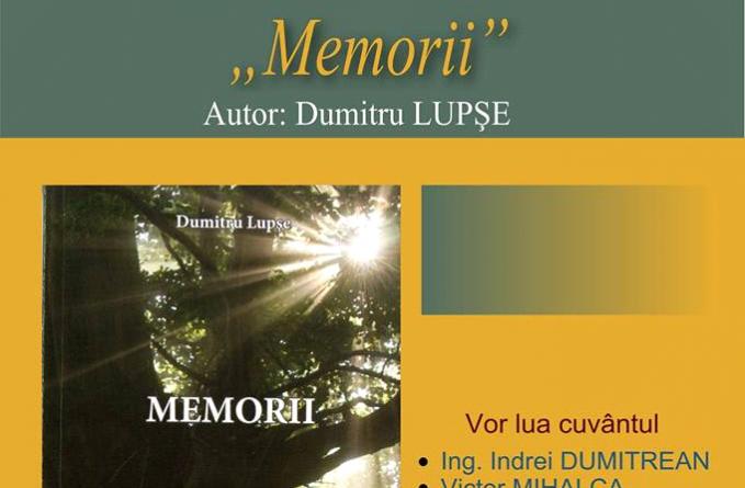 """Lansare de """"Memorii"""""""