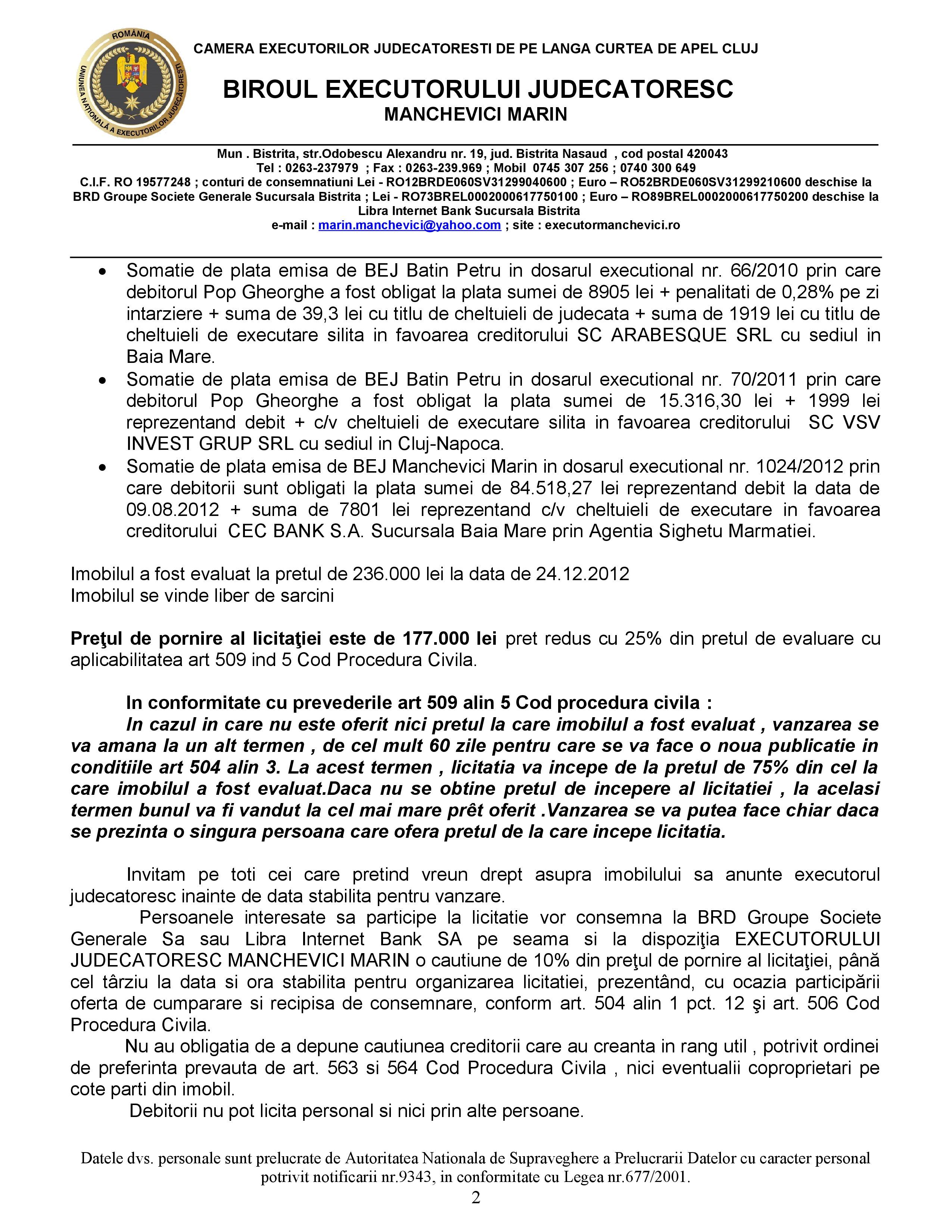 Teren 420 mp și atelier reparații auto, Sighetu Marmației, 177.000 lei
