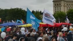 Maramureșean care și-a întrerupt concediul de la mare ca să meargă la protest în capitală