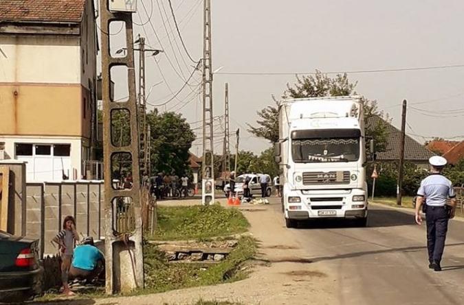 Biciclist accidentat mortal în Mogoșești