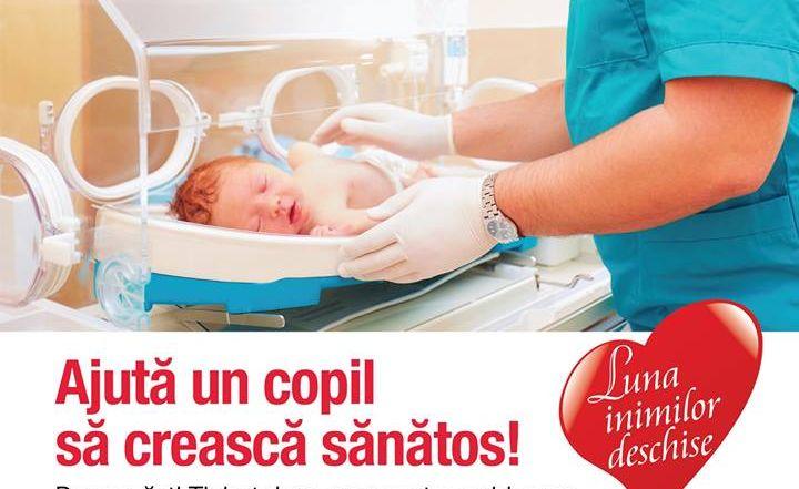 Campanie pentru dotarea secției de pediatrie a Spitalului Județean