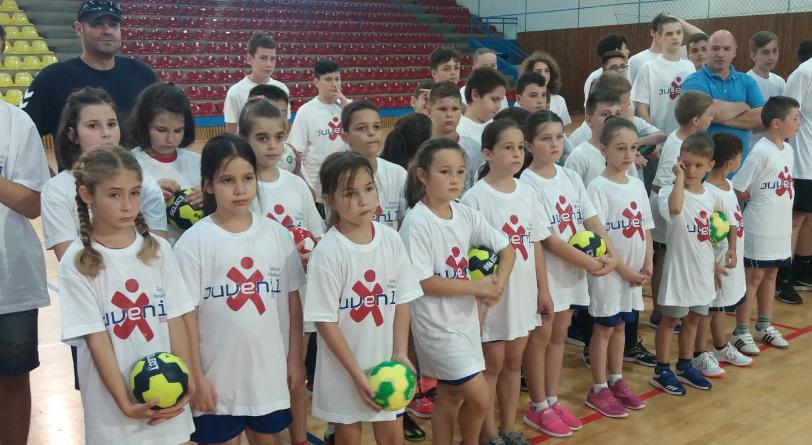 Festivalul handbalului juvenil în Baia Mare