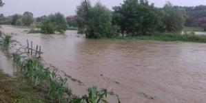 Atenționare cod galben de inundații în Maramureș