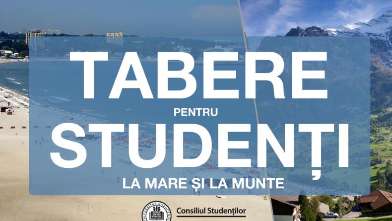 Cereri  pentru taberele studențești