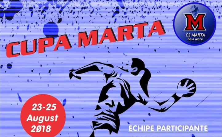 Trei zile de handbal, la Cupa Marta
