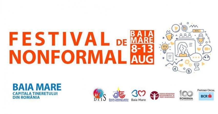 Festival nonformal în Baia Mare