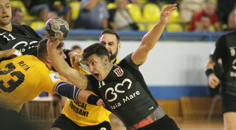 Victorie la scor pentru Minaur în primul meci de la Făgăraș