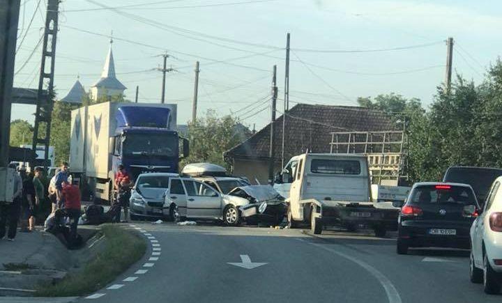 Accident în Satulung