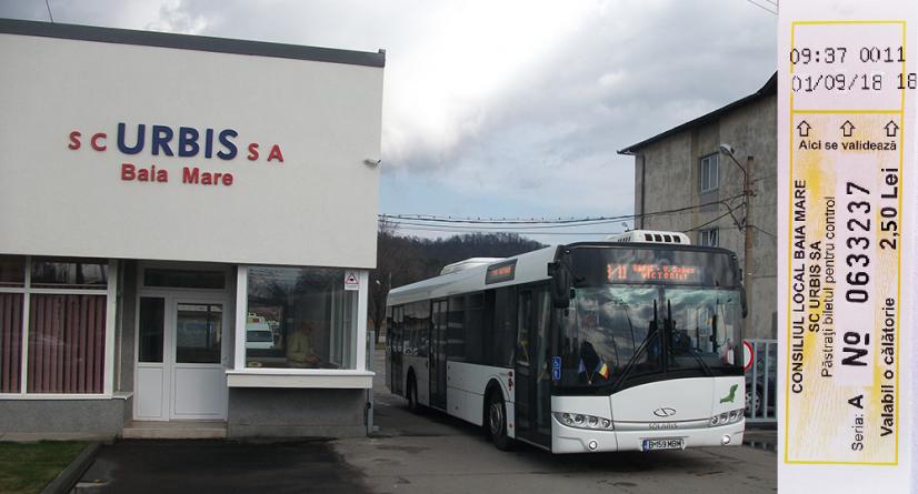Din septembrie, călătorii mai scumpe cu mijloacele de transport în comun din Baia Mare