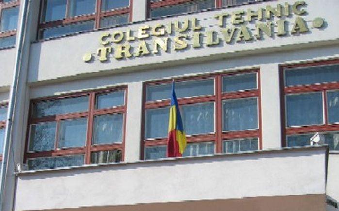 Investiție de aproape 6 milioane de lei la Colegiul Tehnic Transilvania