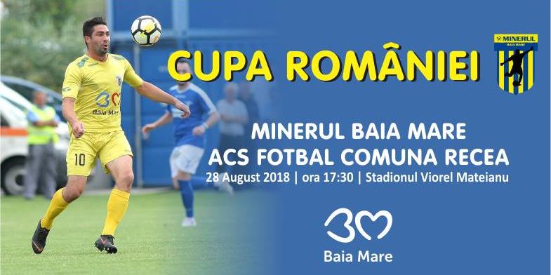 Duel maramureșean în faza a 3-a a Cupei României la fotbal