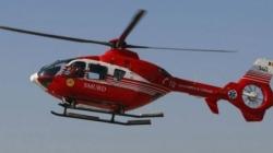 Femeie adusă cu elicopterul SMURD la Spitalul Județean de Urgență
