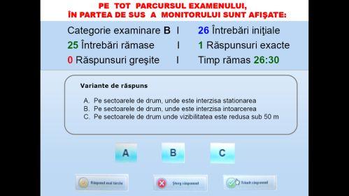 Examenul teoretic pentru redobândirea permisului se reprogramează