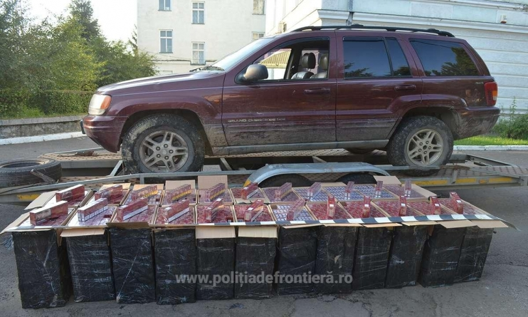 Focuri de avertisment s-au tras, dar contrabandiști n-au fost prinși