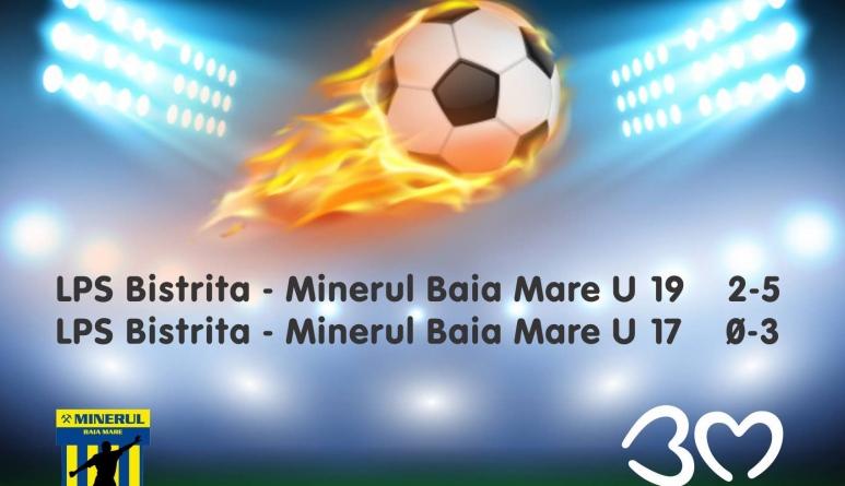 Juniorii de la Minerul aduc 6 puncte din meciurile cu LPS Bistrița