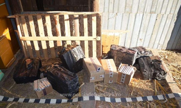 Focuri de armă s-au tras, țigări s-au găsit, dar contrabandiști nu