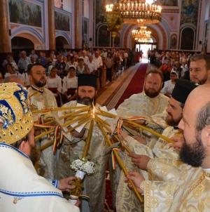 A fost târnosită Catedrala istorică din Baia Mare