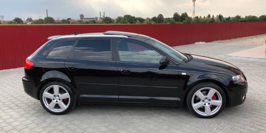 Audi de 60.000 de lei, furat din Belgia și găsit repede în România