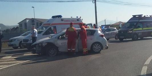 """Trei accidente  """"întâmpină"""" în Maramureș """"Ziua europeană fără persoane decedate în accidente rutiere"""""""