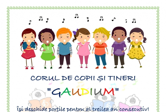 Preselecție pentru corul GAUDIUM