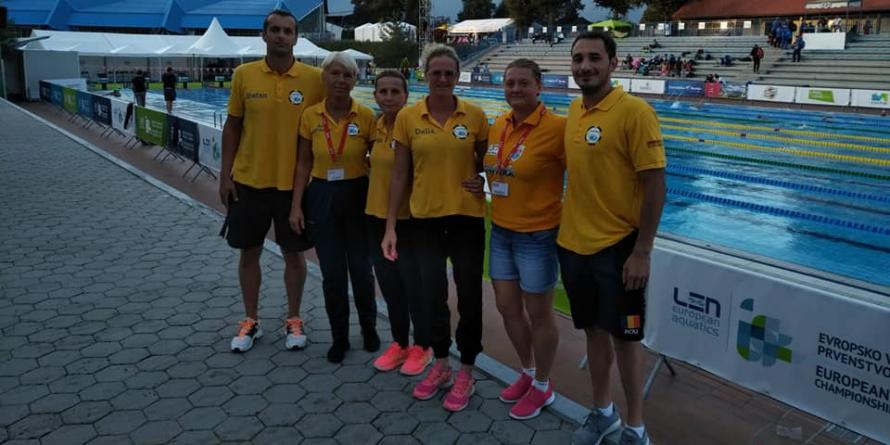 Băimărenii au luat  4 medalii la Campionatele Europene de Înot Masters