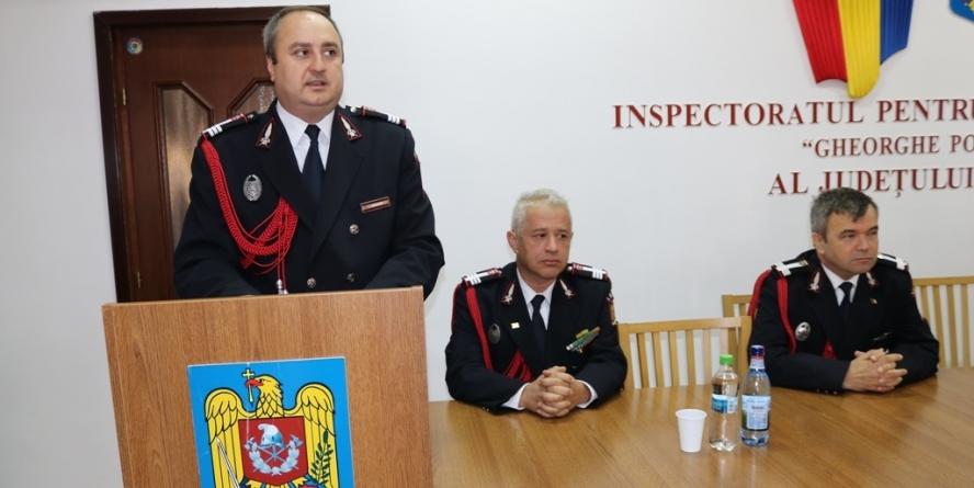 Col. Pavel Baltaru e noul inspector șef al ISU Maramureș