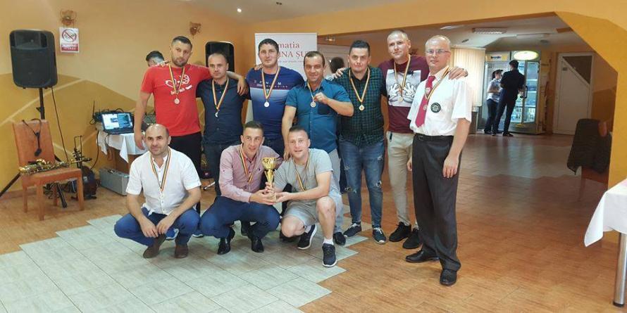"""Cupa """"Toamna Băimăreană"""" la minifotbal inter-penitenciare a revenit gazdelor"""