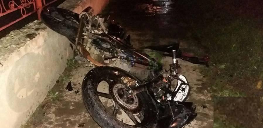 Motociclist accidentat grav în Borșa, în timp ce pasagera a scăpat teafără