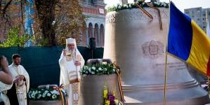 Au fost sfinţite cel şase clopote ale Catedralei Naţionale