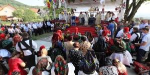 Biserică ridicată în vremea războiului, sfințită de episcopul Iustin