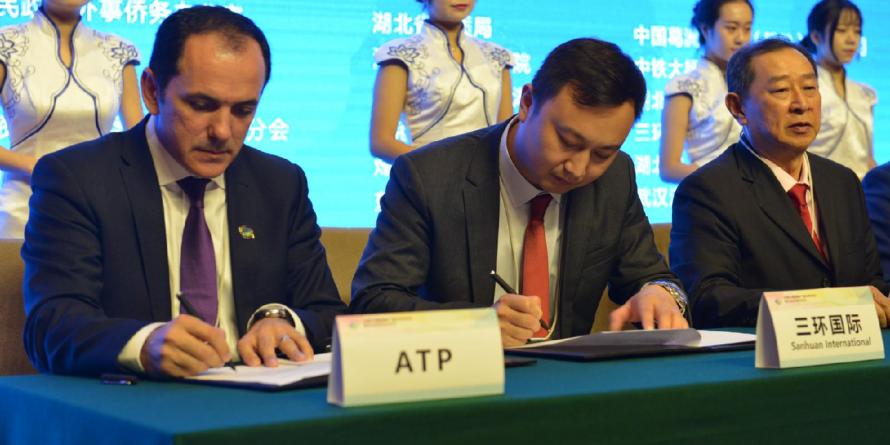 ATP Exodus Grup Baia Mare a încheiat un parteneriat strategic cu un puternic grup chinez