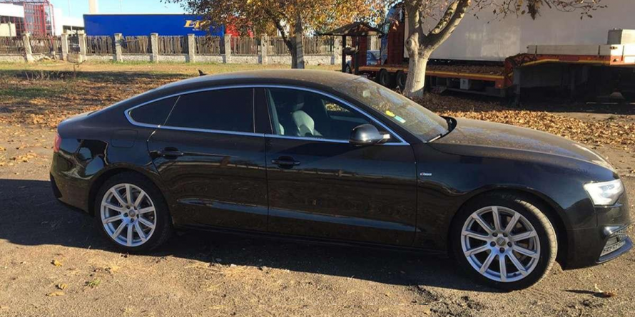 Audi A5 furat din Olanda, având numere de Franța și recuperat în România