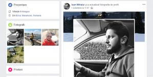 Și-a pus pe pagina sa o poză de profil alb-negru și după o săptămână a murit într-un accident de mașină
