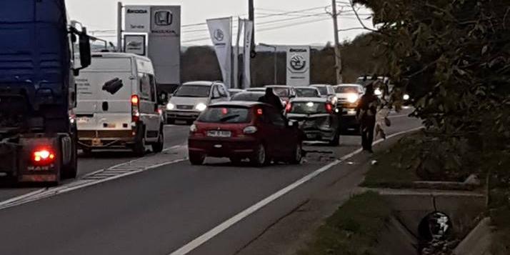 Accident sub Dura