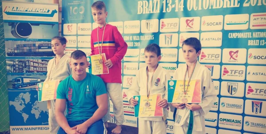 Băimăreanul Ianis Vasvari a câștigat titlul de campion național la Judo Ne Waza